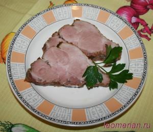 Запеченная свинная шейка