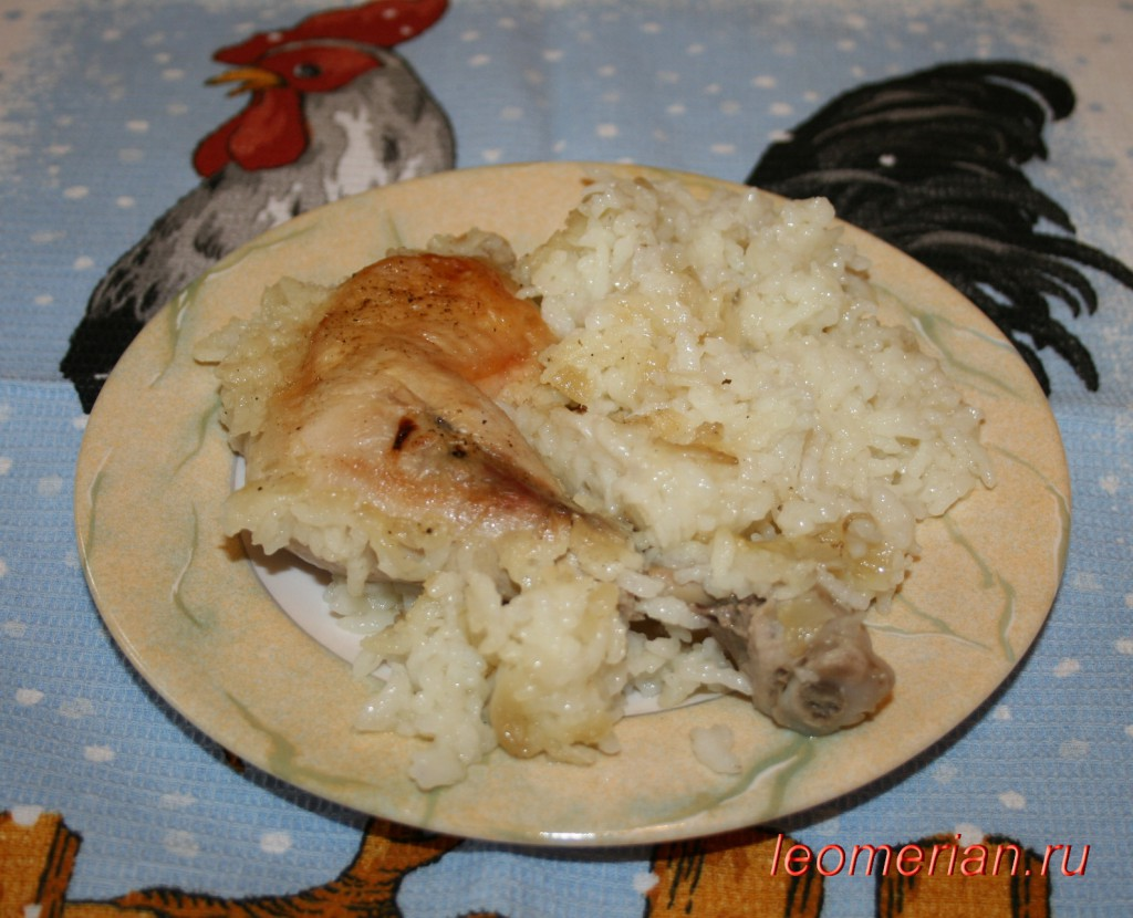Рецепт курицы с белым соусом