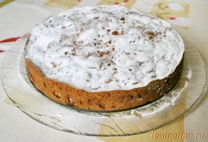 Сладкиий пирог с яблоками и корицы
