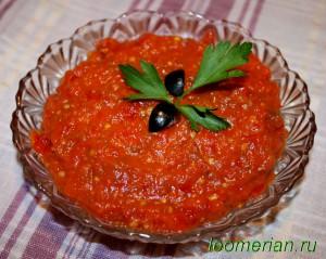 Икра из болгарского перца