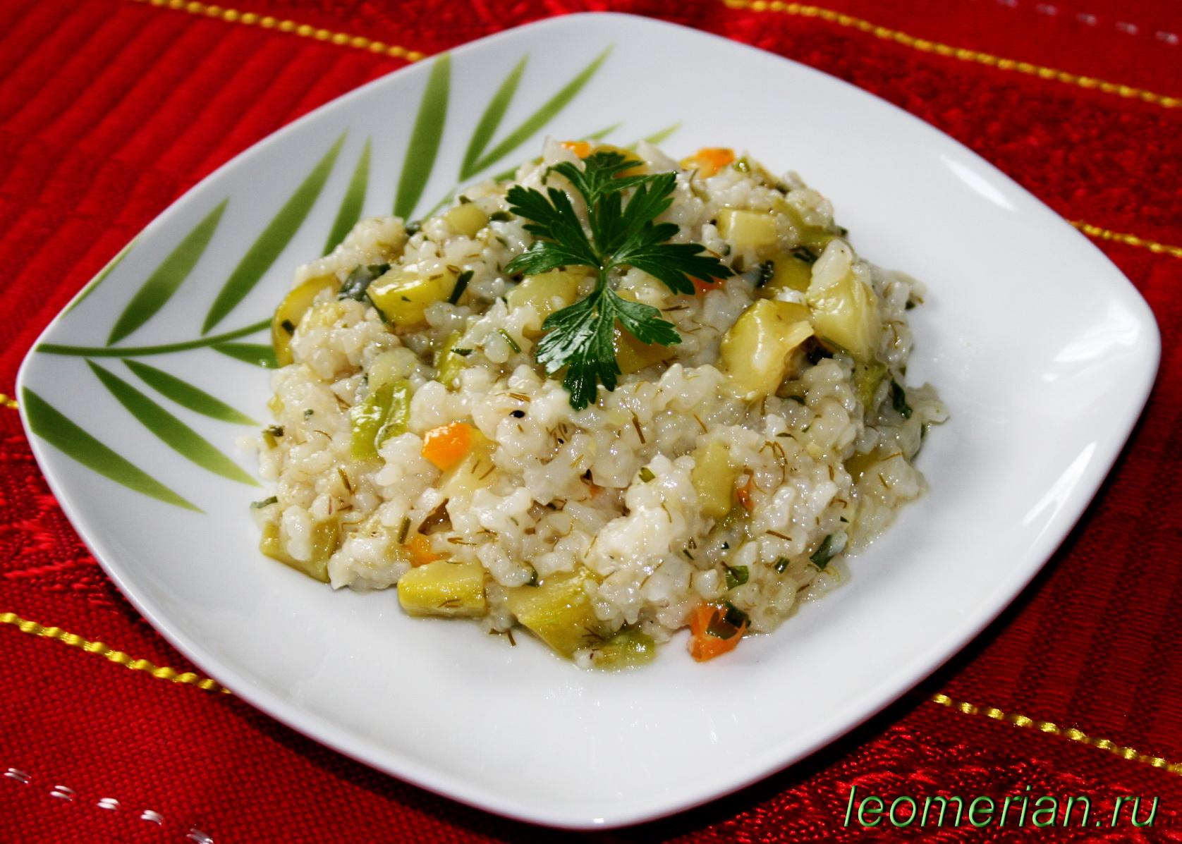 Рис тушеный с овощами фото пошагово в