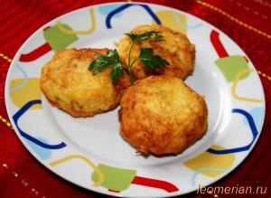 Картофельные котлеты по-болгарски