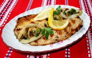 Скумбрия, жаренная на барбекю по-болгарски