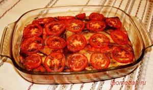 "Овощная запеканка  ""Имамбаялдъ"" по-болгарски"