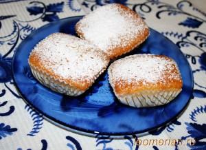 Мини-кексы на кефире по-болгарски
