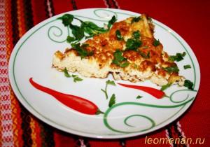 Омлет с брынзой в духовке по-болгарски