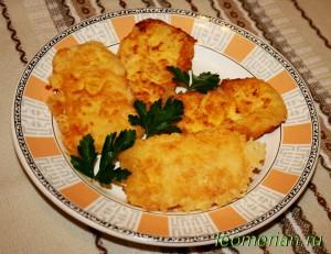 Сыр в панировке по-болгарски