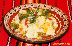 Рис с овощами по-болгарски