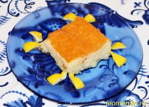 Восточный пирог в сиропе