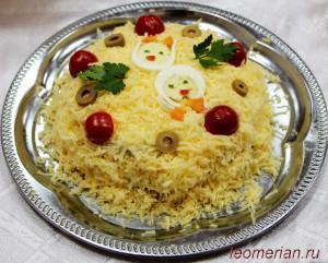 Блинный торт по-болгарски